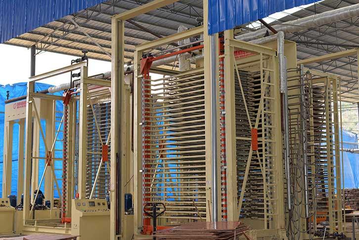建筑红板制造设备的全过程