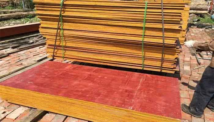 建筑模板的生产