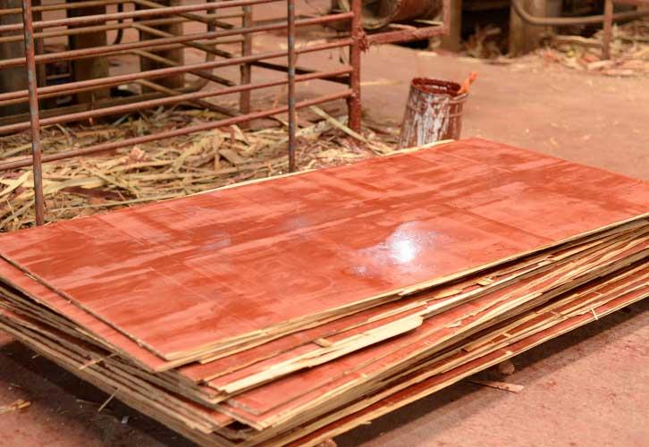 建筑红模板质量
